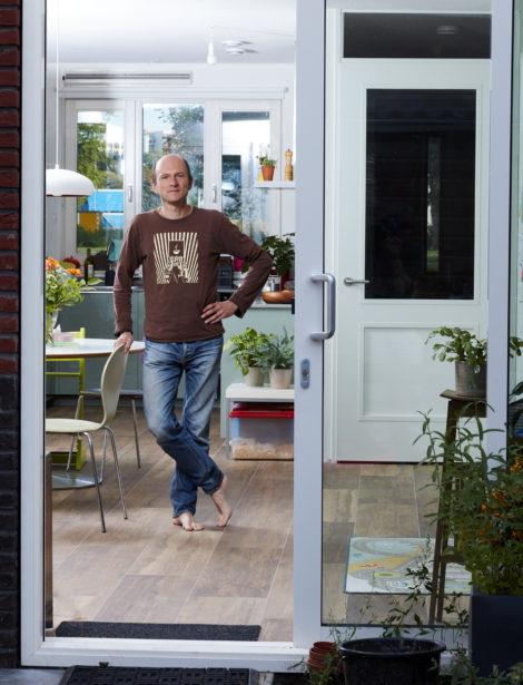 Gasvrij wonen: Evert Hassink was verbaasd dat zijn nieuwbouwhuis verwarmd werd met gas