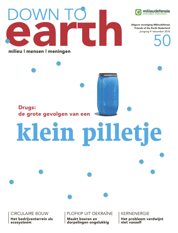 Cover van — Down to Earth 50 (december 2018/januari 2019)