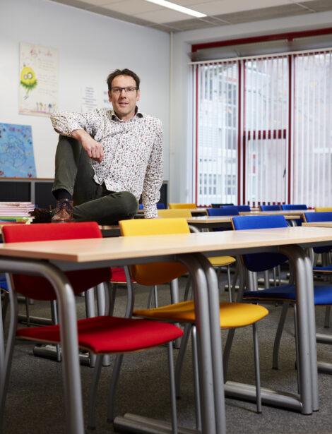 Duurzame docenten: André de Hamer