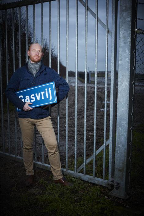 Verzet tegen kleine gasvelden: Elias Bom van Laat Woerden Niet Zakken