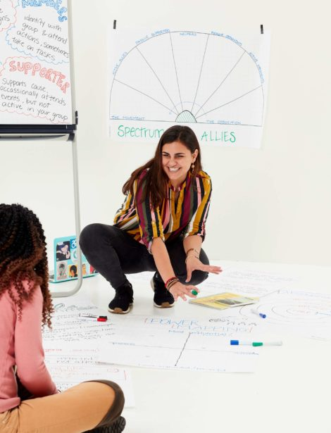 Demonstreren kun je leren: Talissa Soto