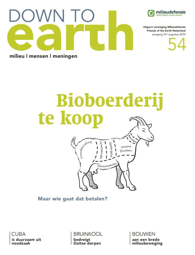 Cover van - Down to Earth 54 augustus 2019