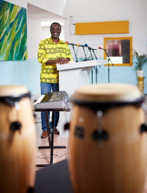 Groene gelovigen: Moses Alagbe