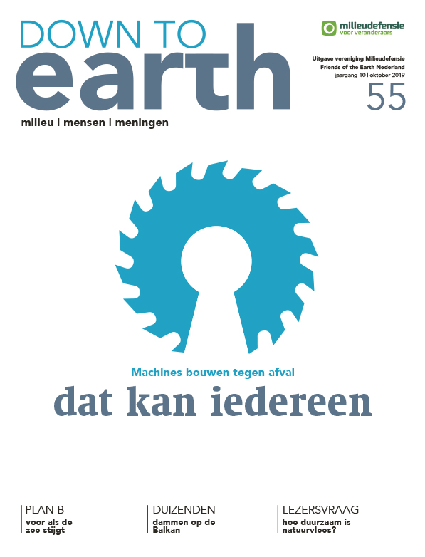 Cover van — Down to Earth 55 oktober 2019