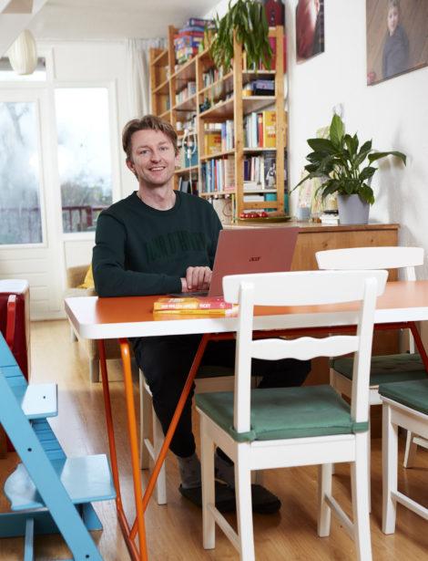 Schrijven voor de planeet: Jan-Willem Anker