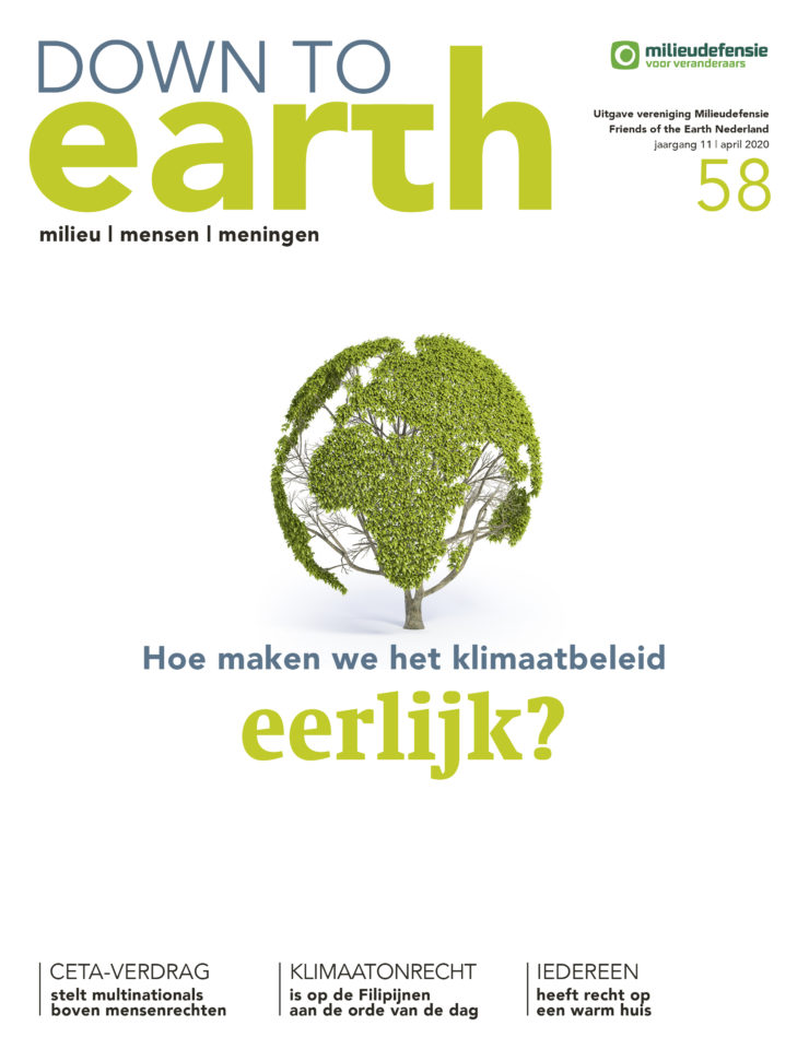 Cover van Down to Earth 58