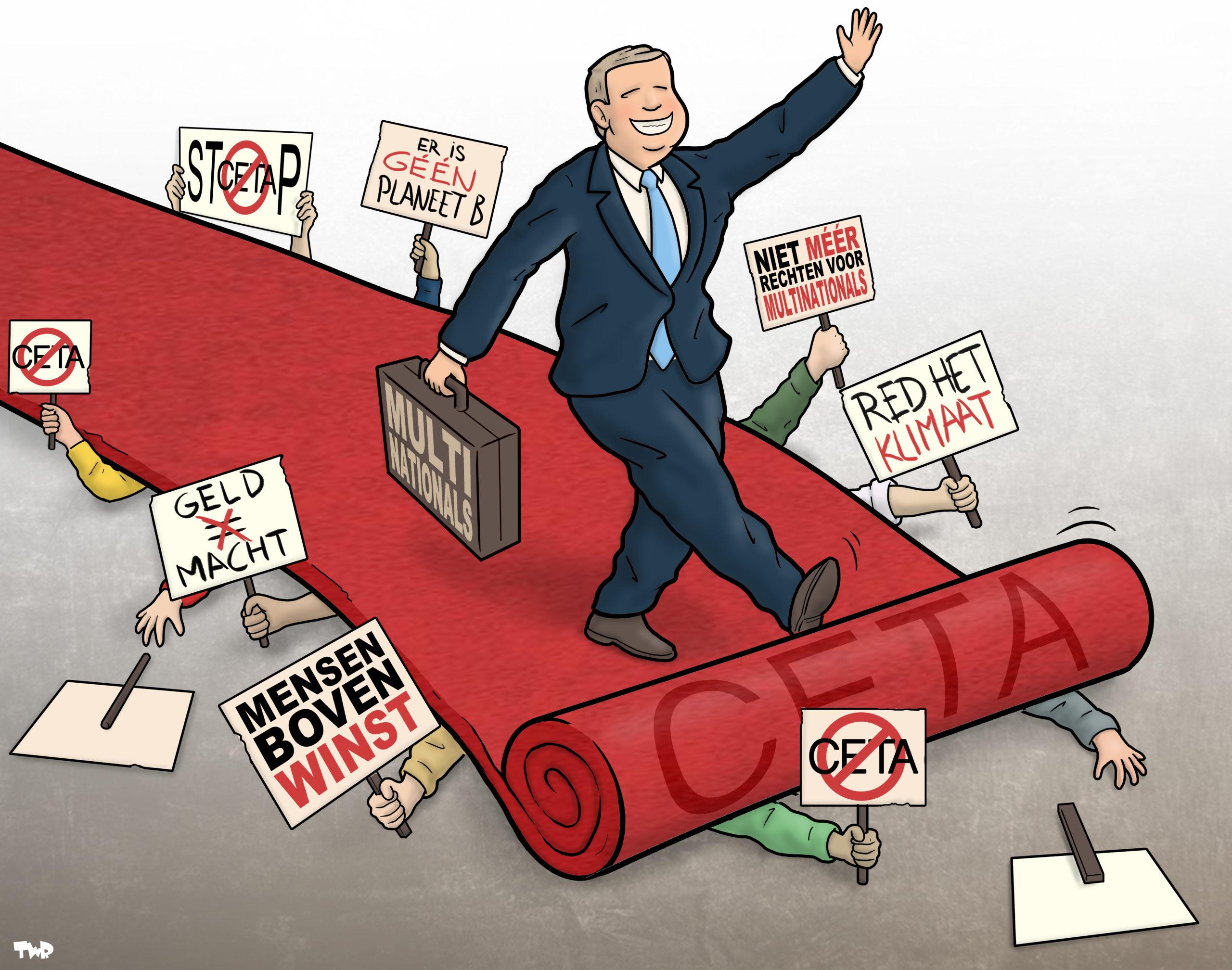 Ondertekening CETA