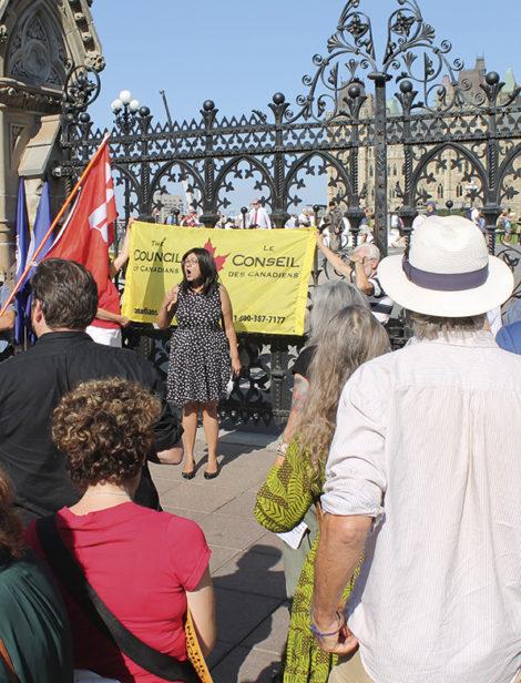 Samen tegen CETA: Sujata Dey