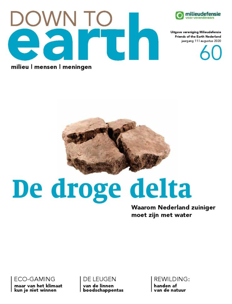 Cover van Down to Earth 60