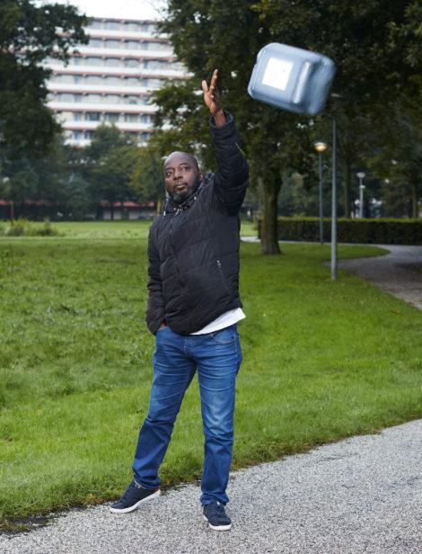 Shell voor de rechter: Taiwo Feyisipo