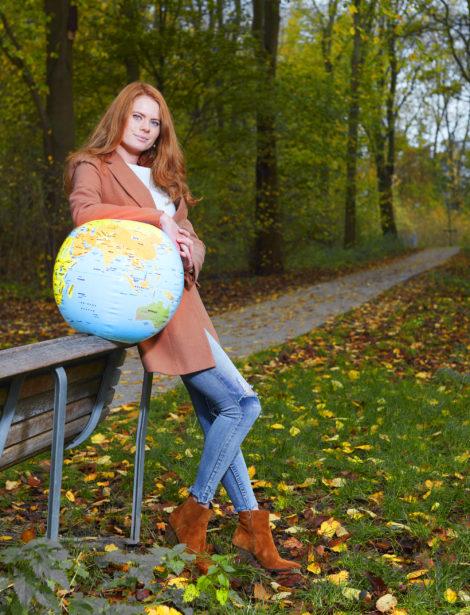 In duurzame dienst: Jessica den Outer