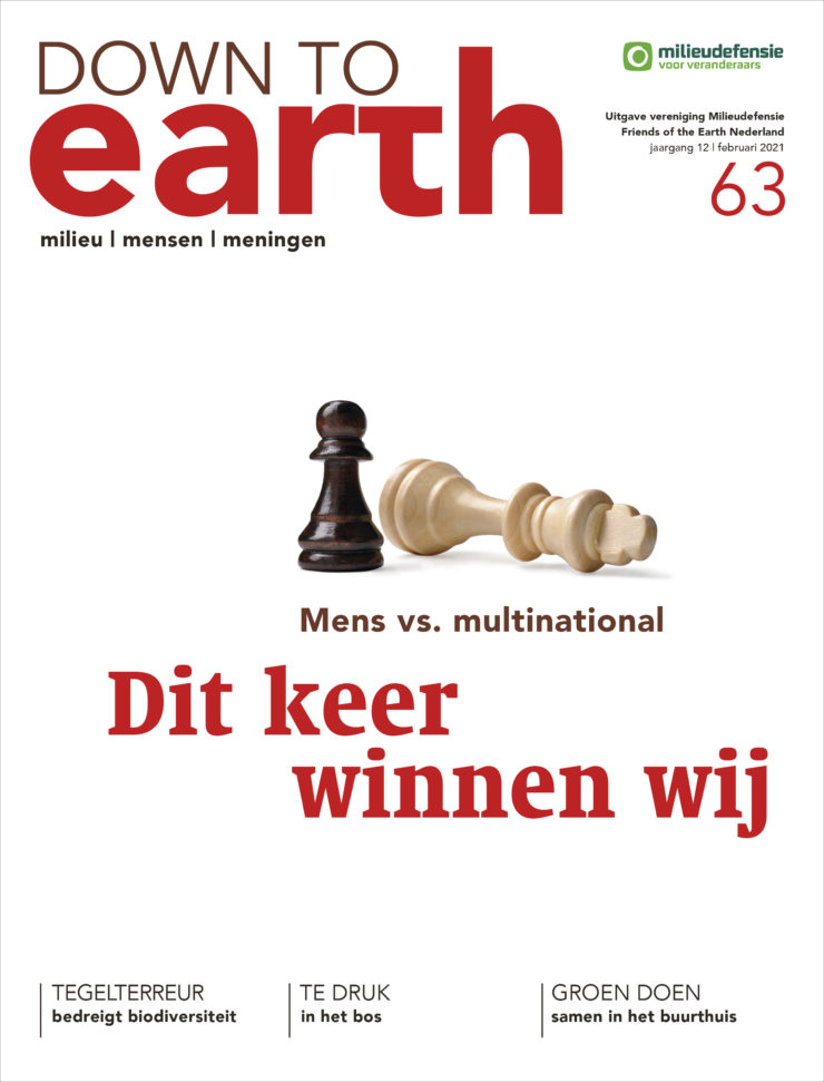 Cover van Down to Earth 63