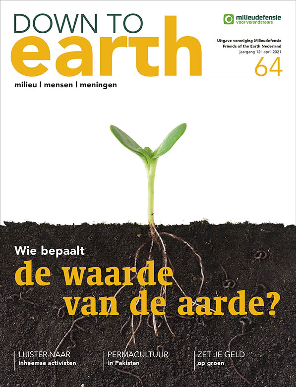 Cover van Down to Earth 64